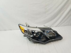 2012 2013 2014 Toyota Camry Se Black Bezel Oem Right Passenger Side Headlight