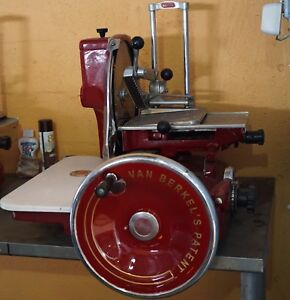 Van Berkel Vintage Meat Slicer 1950s Fully Restore Beautiful