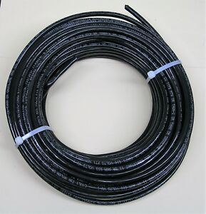 60 Feet Of Black 6 Awg Thhn Stranded Wire From Southwire Company
