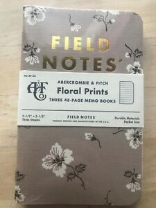Field Notes Abercrombie Floral Edition Limited Edition