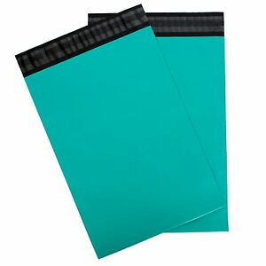 Teal Blue green Poly Mailers 14 5x19 Pack Of 100