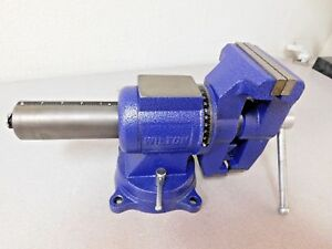 Wilton Bench Pipe Combination Vise 5 Jaw Width X 5 1 4 Opening 69999