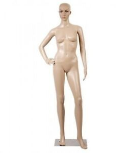 6 Ft Female Full Body Realistic Mannequin Display Dress Form W Base New
