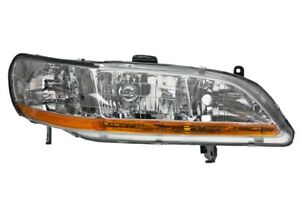 New Right Front Headlamp Light Assembly 2001 2002 Honda Accord Ho2503117c