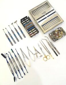 Soft Brushing Kit Brushes Set Dental Implant Surgery Instruments