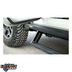Aries 3048315 Black Powder Coat Actiontrac Powered Running Boards
