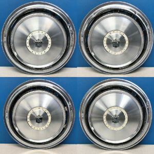 1971 1973 Buick Electra Estate Wagon 1042 15 Hubcaps Wheel Covers Set 4