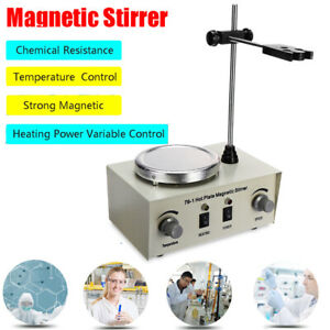 Magnetic Stirrer Machine Mixer Stirring Thermostatic Heating Hot Plate 1l Usa