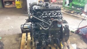 Perkins 4 Cylinder Diesel Engine 4 41 236 Chipper Skid Steer Power Unit