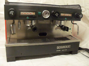 Rancilio 2 group Commercial Espresso Machine Classic Coffee House Workhorse 220v