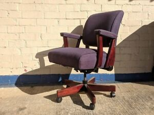 Jasper Seating Executive Office Chair Mid Century Modern Vintage
