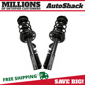 Front Complete Strut Assembly Pair For 2011 2012 Ford Explorer Fwd
