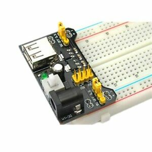 Breadboard Power Supply Module 3 3v 5v For Mb 102 Solderless Breadboards Us