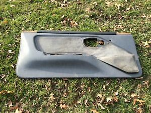 82 92 Firebird Gta Trans Am Door Panel Gray Lh Left Drivers Side