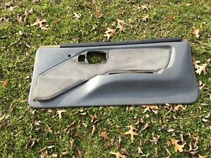82 92 Firebird Gta Trans Am Door Panel Gray Rh Right Passenger Side