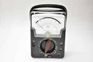 Vintage Triplett Model 630 ns Multimeter