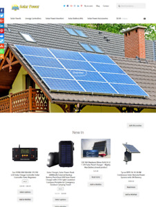 Solar Website Business For Sale Fully Stocked