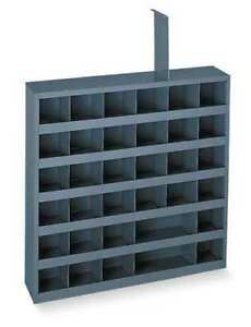 Metal 36 Hole Storage Bolt Bin Cabinet Compartment Nuts Bolts Fasteners Screws