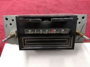 1973 Mustang Am 8 Track Stereo Radio d3za For Parts Or 73 Mach 1 Please Read
