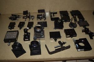 Oriel Stage Mirror Mount Optical Parts Lot Of 25 Parts br1