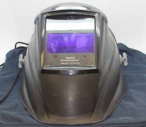 Miller Auto darkening Welding Helmet Digital Performance Series Model 231921 Use