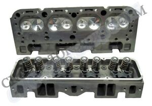 Sb Chevy 350 Eq Cast Iron Cylinder Heads Stage 1 Imca Usra Ch350i