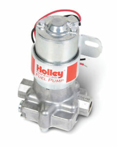 12 801 1 Holley 97 Gph Red Electric Fuel Pump
