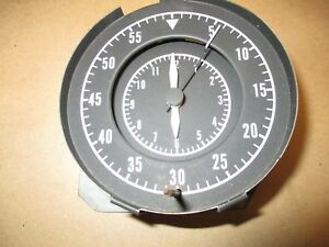 Oem Mopar Vintage Tictac Speedometer Clock For 70 Roadrunner Super Bee Charger