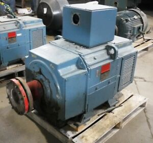 200 Hp Dc Reliance Electric Motor 850 Rpm B507atz Frame Dpfv 500 V