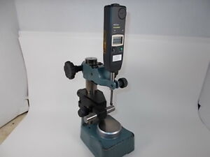 Mitutoyo 575 123 Digital Indicator 1 0005 Fine Adjustment Stand Tested Fine