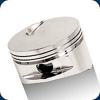 257976 Je Big Block Flat Top Pistons Td 548 Bb Chevy 4 530 Bore 9 6 1 Comp