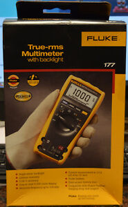 Fluke 177 True Rms Digital Multimeter With Backlight 177 Esfp