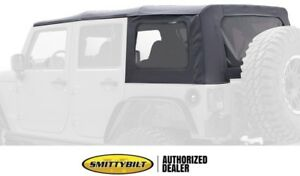 Replacement Black Soft Top W Windows 9080235 07 09 For Jeep Wrangler Unlimited