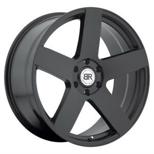 1 24x10 6 135 Black Rhino Everest Matte Black Wheel rim 24 2410eve356135m87