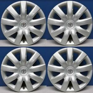 2004 2006 Toyota Camry 61136 15 9 Spoke Hubcaps Wheel Covers 42621aa150 Set