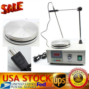Magnetic Stirrer Machine With Heating Plate 85 2 Digital Magnetic Mixer 110v