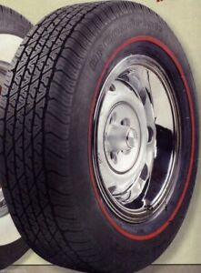 Bfg P205 60r15 Radial T A With 3 8 Redline Tire Need Year Model Of Your Car 76