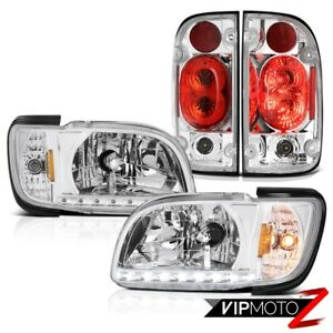 01 04 Toyota Tacoma Prerunner Euro Clear Tail Lamps Headlights Bumper Oe Style