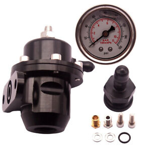 For Honda B16 B18 B20 Si Ls Gsr D16 B20 B17 Fpr Fuel Pressure Regulator Gauge