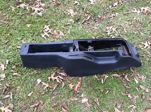 82 92 Firebird Trans Am Gray Center Console