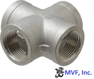 Cross 150 304 Stainless Steel 4 Npt Fitting 881 wh