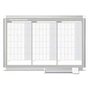 Mastervision Magnetic Dry Erase Calendar Board 36 X 24 bvcga03204830
