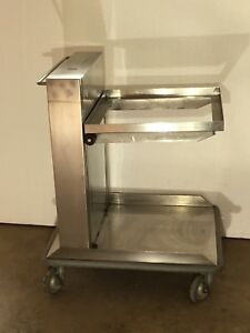 Amf Lowerator Tray Plate Glass Dispenser Stainless Steel 3000 New Save