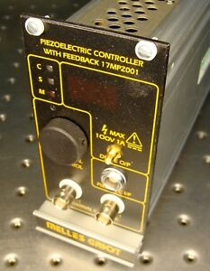 Melles Griot 17mpz001 Piezelectric Controller With Feedback Module Optical Laser