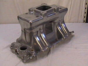 Weiand Chevy Tunnel Ram 4 Bbl Intake Manifold Bbc Vintage Big Block Chevy