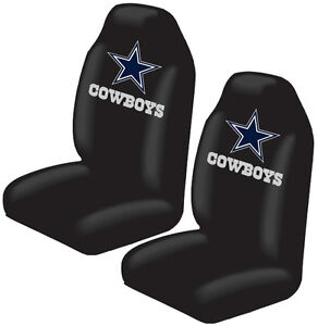 2pc Football Football Dallas Cowboys High Back Seat Covers