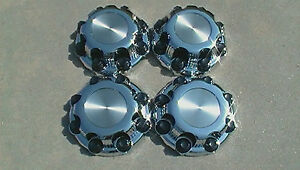 Chevy Gmc 2500 3500 8 Lug Chrome 16 Wheel Center Caps Hub Cap Covers Set Of 4