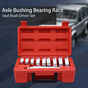 10pc Custom Bushing Bearing Seal Driver Push Press Disc Tool Set Us Stock