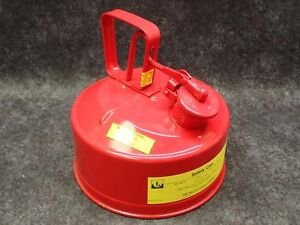 Protectoseal Safety Gas Can Model U 764026 Red 1 Gallon Steel Type 1 4612c