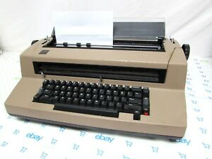 Vintage Ibm Selectric Iii 3 Correcting Typewriter Tan Brown Pre owned